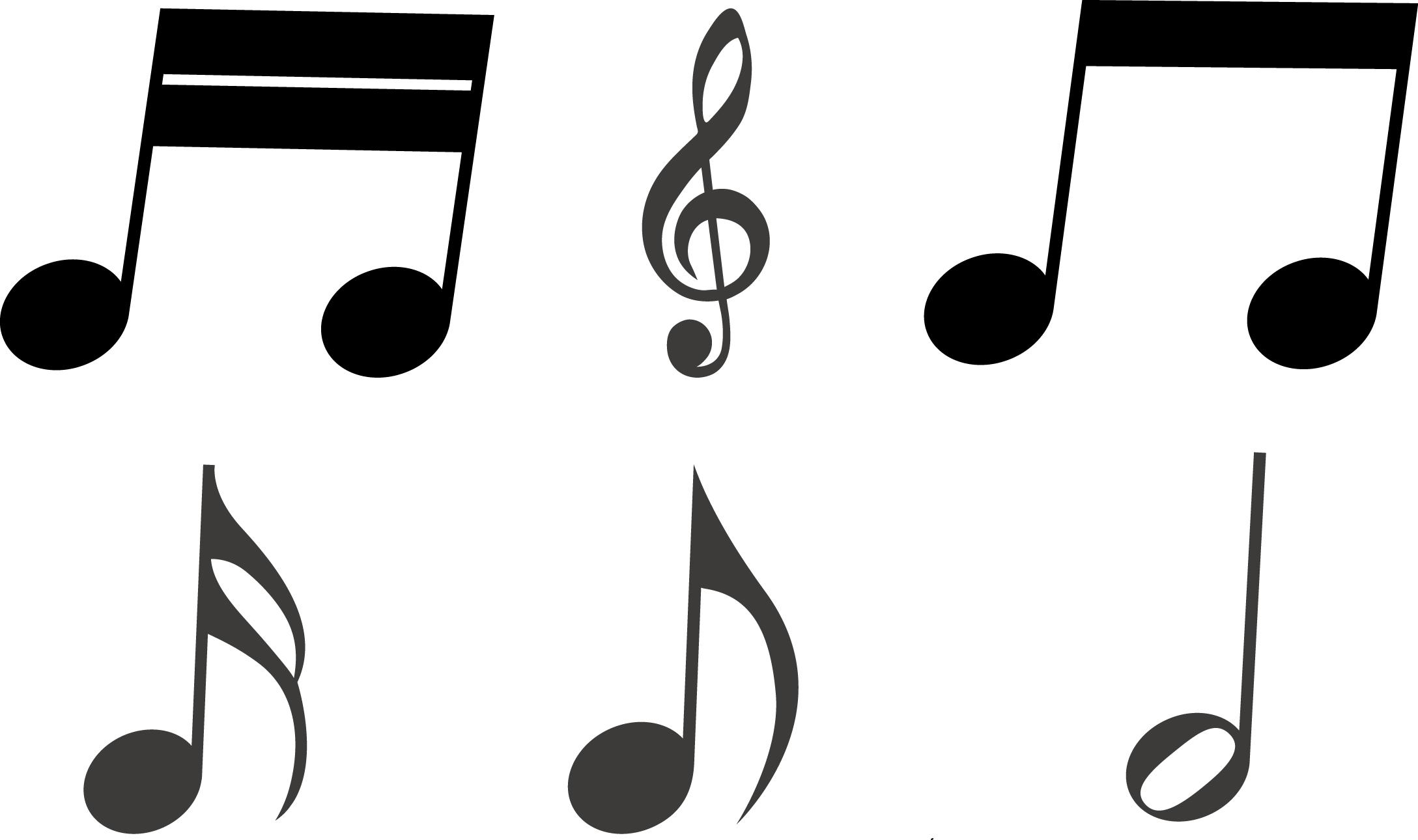 """autoaufkleber """"musiknoten"""" musik noten notenschlüssel"""